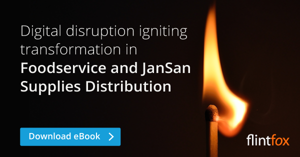 Digital disruption igniting transformation Foodservice and JanSan Supply Distribution