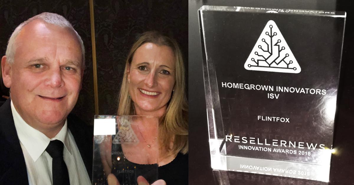 Flintfox have been announced as winners at Reseller News Innovation Awards 2018!